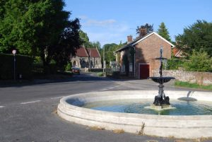 Photo of the Hinton Martell Fountain