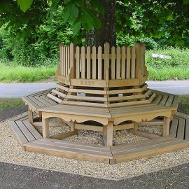 Photo of the Witchampton R&BT benches