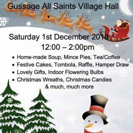 Gussage All Saints Christmas 2018