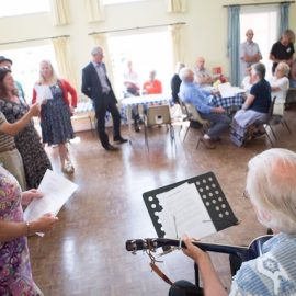 In Jolly Good Company – Activities to combat loneliness in Wimborne St Giles