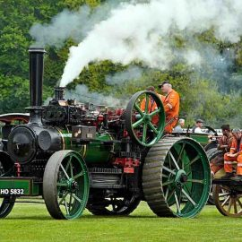 Notice of temporary traffic management for Great Dorset Steam Fair 2019